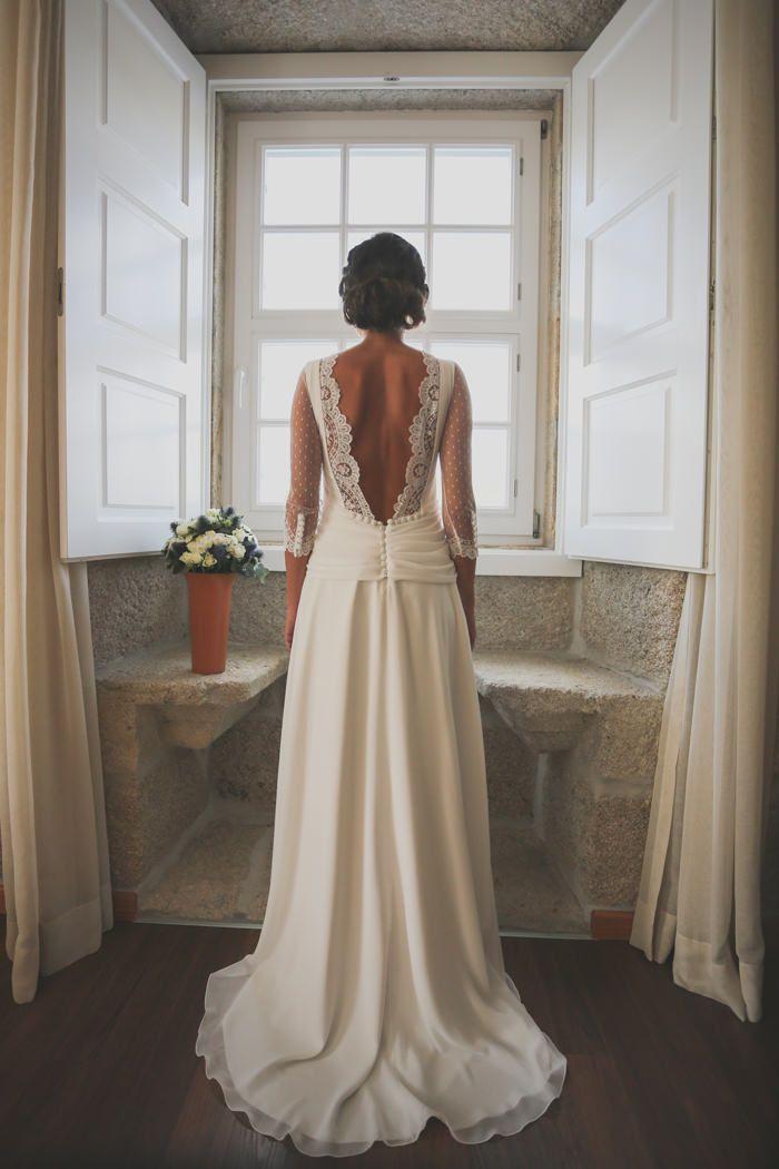 vestidos de novia espalda descubierta | vive les mariés